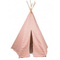 nobodinoz-tipi-zigzag-en-coton-rouge